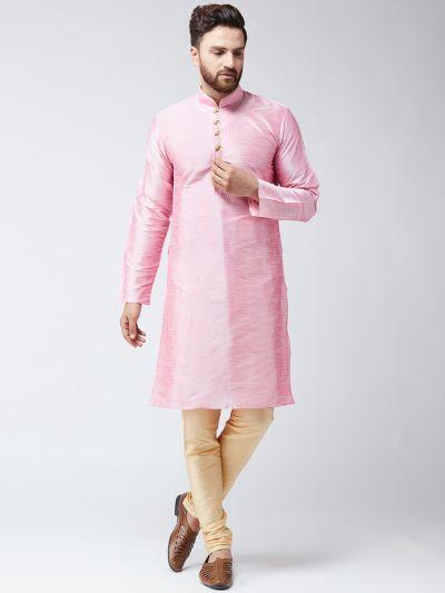 Sojanya (Since 1958) Men's Pink Only Long Kurta