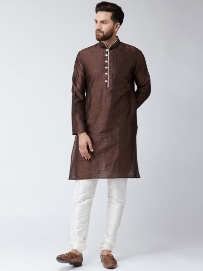 Sojanya (Since 1958) Men's Brown Only Long Kurta