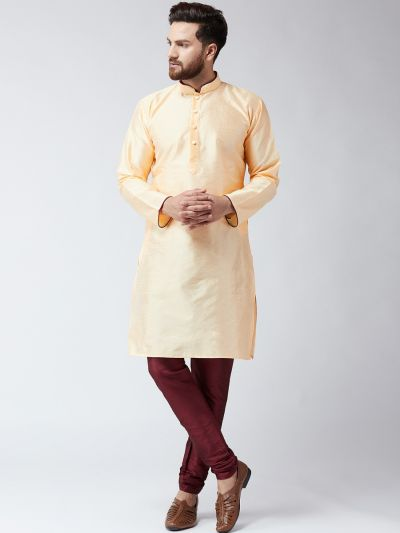 Sojanya (Since 1958) Men's Gold Only Long Kurta