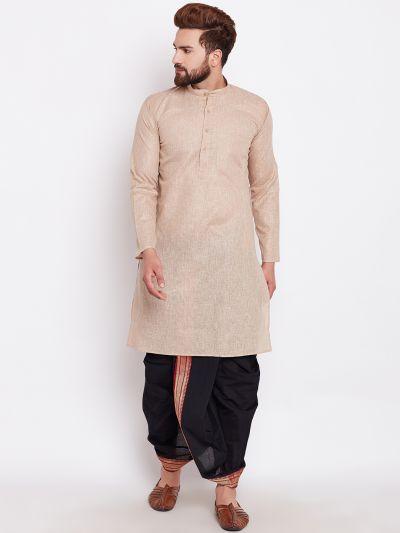 Sojanya (Since 1958), Cotton Dhoti Kurta Set